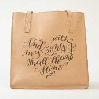 Song of Thanksgiving Tote