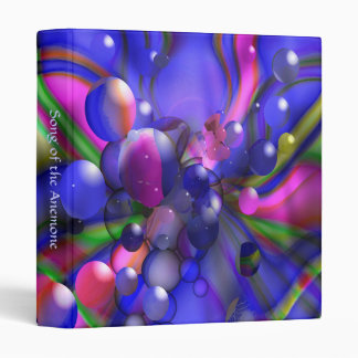 Song of the Anemone 3 Ring Binder