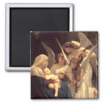 Song of the Angels 2 Inch Square Magnet