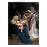 Song of the Angels by Bouguereau, Christmas Greeting Card
