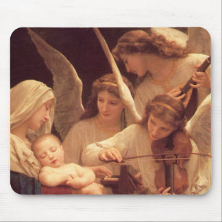 Song of the Angels by Bouguereau Mouse Pad
