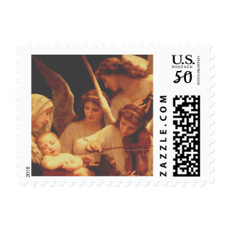 Song of the Angels by Bouguereau Postage