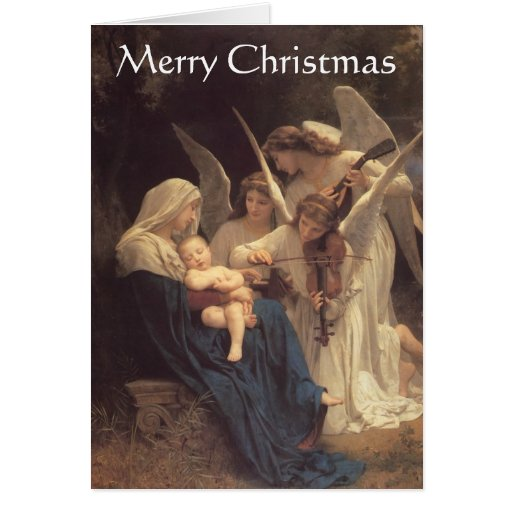 """""""Song of the Angels"""" Christmas Card"""