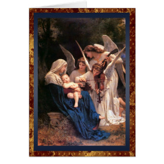 Song of the Angels Vintage Christmas Card