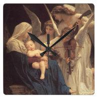 Song of the Angels Wallclocks