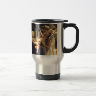 Song of the Angels, William-Adolphe Bouguereau 15 Oz Stainless Steel Travel Mug