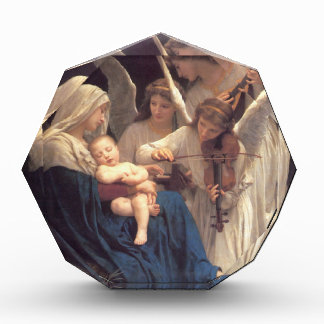 Song of the Angels - William-Adolphe Bouguereau Acrylic Award
