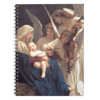 Song of the Angels - William-Adolphe Bouguereau Notebook