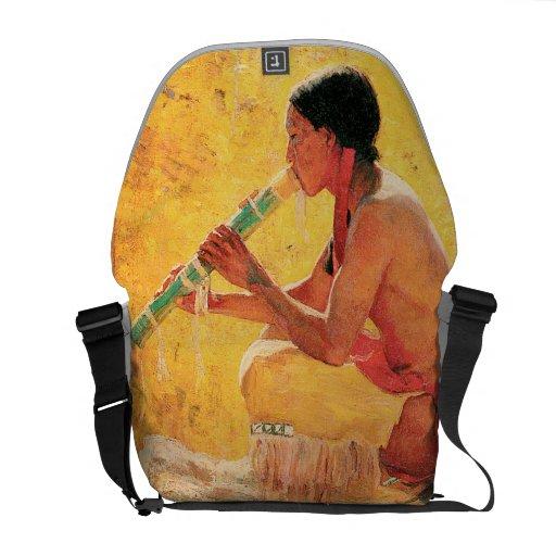 Song of the Aspen - Rickshaw Messenger Bag