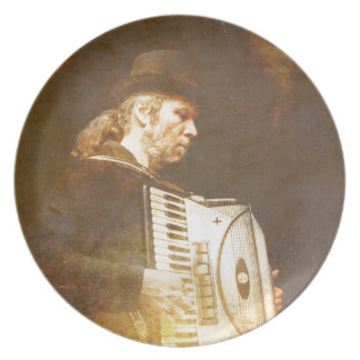 Song of the Gypsy King Dinner Plate
