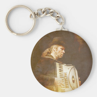 Song of the Gypsy King Keychain