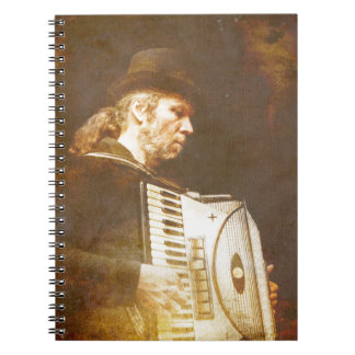 Song of the Gypsy King Notebook