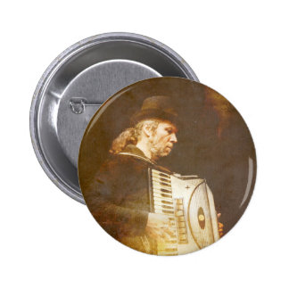 Song of the Gypsy King Pinback Button