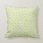 Song Of The Lady Slipper Geometric Throw Pillow