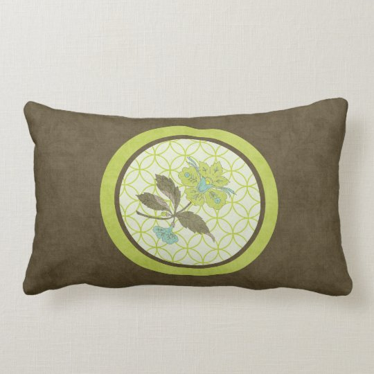 Song Of The Lady Slipper Lumbar Pillow