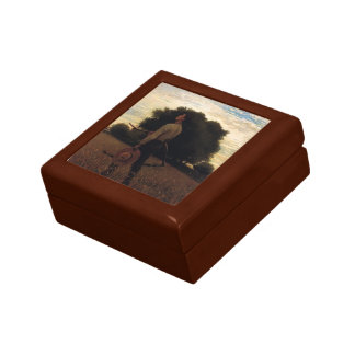 Song of the Lark by Winslow Homer Jewelry Box