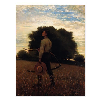 Song of the Lark by Winslow Homer Postcard