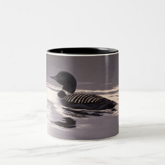 Song of the Loon Two-Tone Coffee Mug