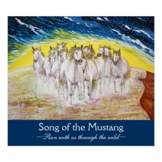Song of the Mustang Poster