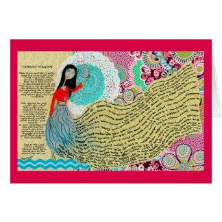 Song of the sea / Shirat Hyam Card