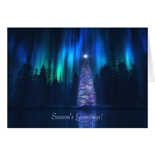 """""""Song of the Sky (Yuletide)"""" Christmas Card"""