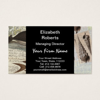 Song of the Whale Business Card