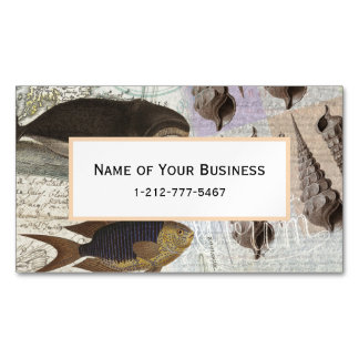 Song of the Whale Business Card Magnet