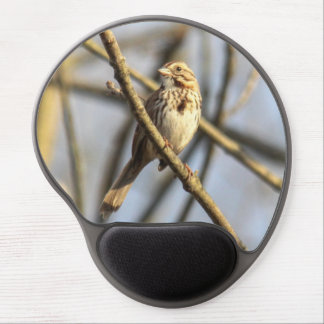 Song Sparrow Gel Mouse Pad