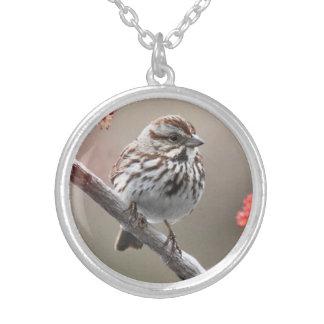 Song Sparrow Pendants