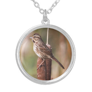 Song Sparrow Personalized Necklace