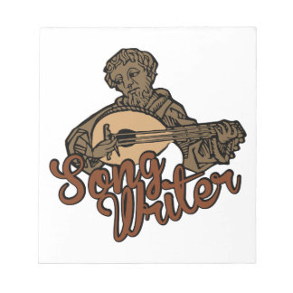 Song Writer Notepad