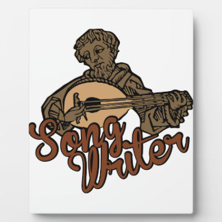 Song Writer Plaque