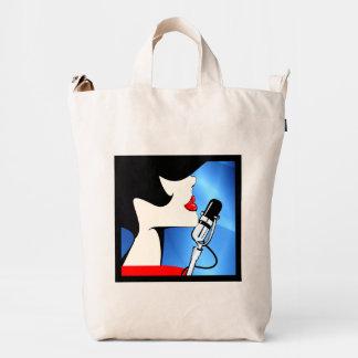 Songbird BAGGU Duck Bag,  Music Theme Duck Bag