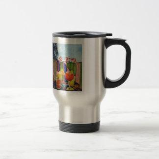 Songbird Café Olé! 15 Oz Stainless Steel Travel Mug