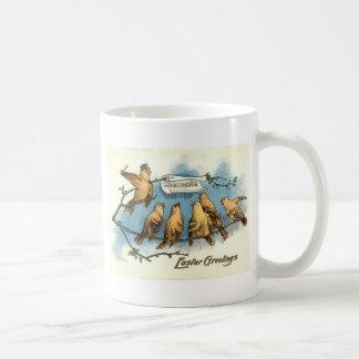 Songbird Choir Sky Singing Song Tree Coffee Mug