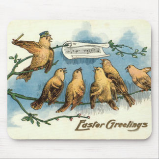 Songbird Choir Sky Singing Song Tree Mouse Pad