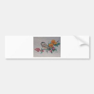 Songbird Chorus Car Bumper Sticker
