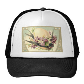 Songbird Easter Egg Crocus Lily Of The Valley Trucker Hat
