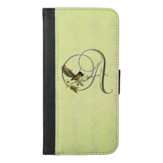 Songbird Initial A iPhone 6/6s Plus Wallet Case
