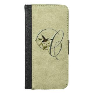 Songbird Initial C iPhone 6/6s Plus Wallet Case