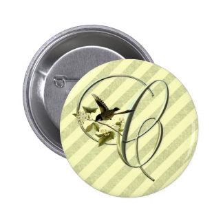 Songbird Initial C Pin