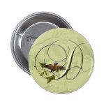 Songbird Initial D Pinback Button