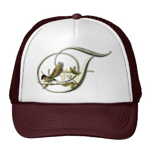 Songbird Initial F Mesh Hats