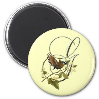 Songbird Initial G Refrigerator Magnets