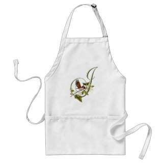 Songbird Initial J Adult Apron