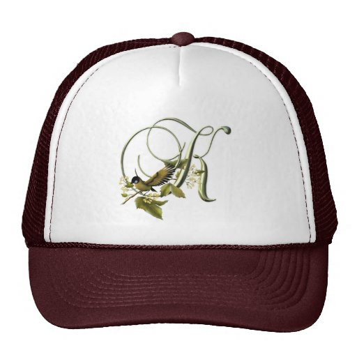 Songbird Initial K Hats