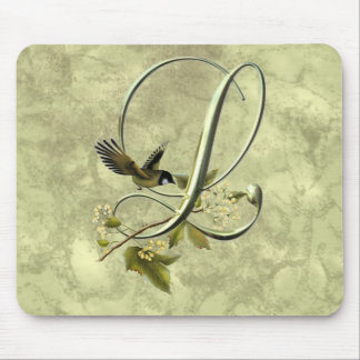 Songbird Initial L Mouse Pad