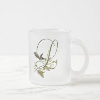 Songbird Initial L Coffee Mugs