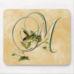 Songbird Initial M Mouse Pad