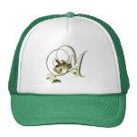 Songbird Initial M Trucker Hats